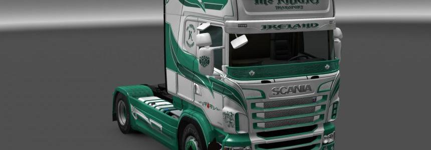Scania R&S Topline Mc KNIGHT skin 1.24