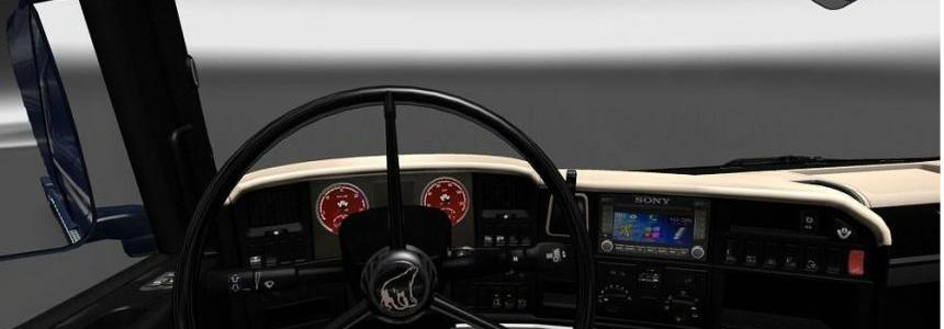 Scania Streamline Black Beige Interior