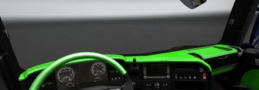 Scania Streamline Green Black Interior