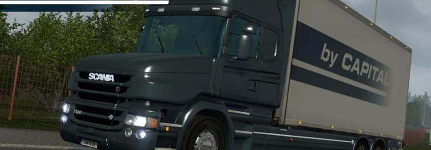 Scania T Tandem By Capital v1.1 for 1.24