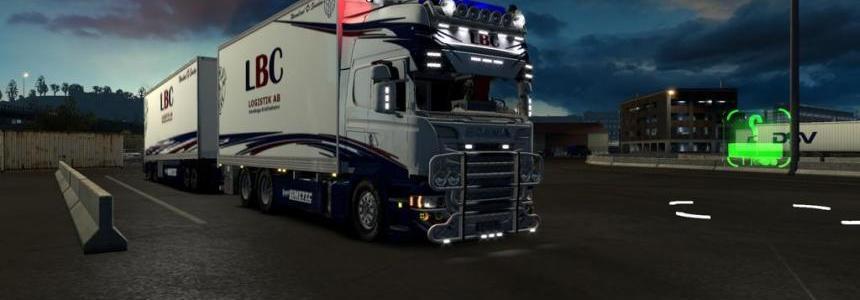 Scania tandem LBC
