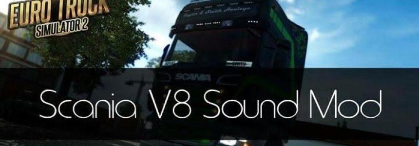 Scania V8 Sound by Zeeuk1 v3.0 [RJL&SCS;]