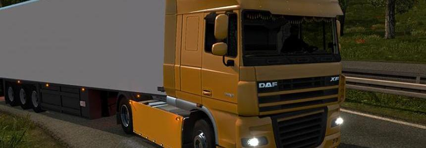Sideskirt Daf scs and 50Keda V2 1.24