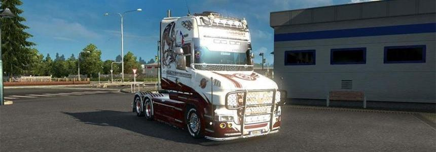 Skin Scania T Jura transport
