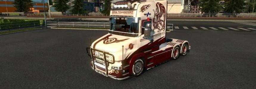 Skin Scania T v1.00