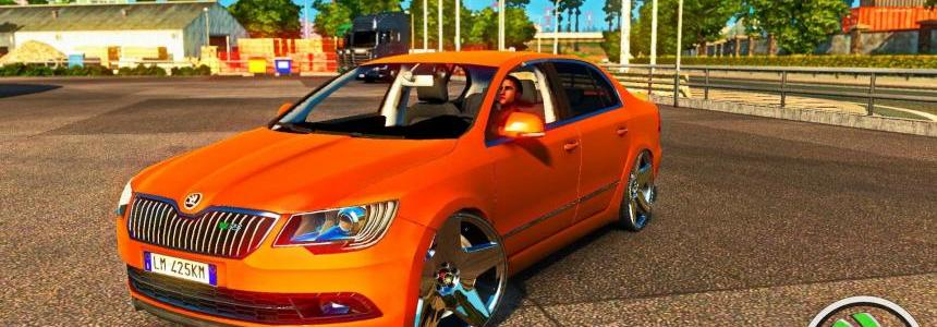 Skoda Superb RS Edition Reworked + Interior v1.0 (1.24.x)