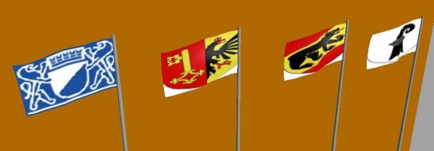 Switzerland flags by Vaszics v1.0