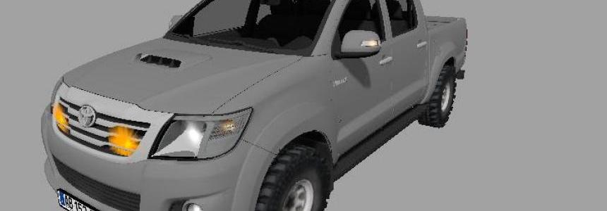 Toyota Hilux CONVOI AGRICOLE v1.0