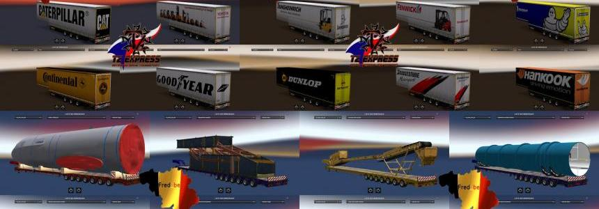 Trailer pack by Fred be V8 1.24.x