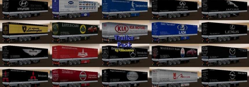 Trailer Pack Car Brands v5.5