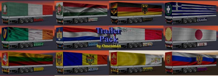 Trailer Pack Countries of the World v4.0 1.24