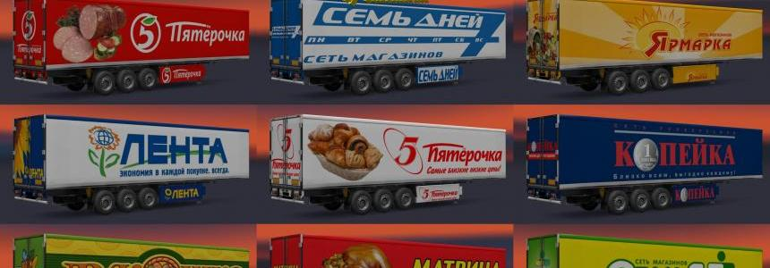 Trailer Pack Russian Food Company v5.5