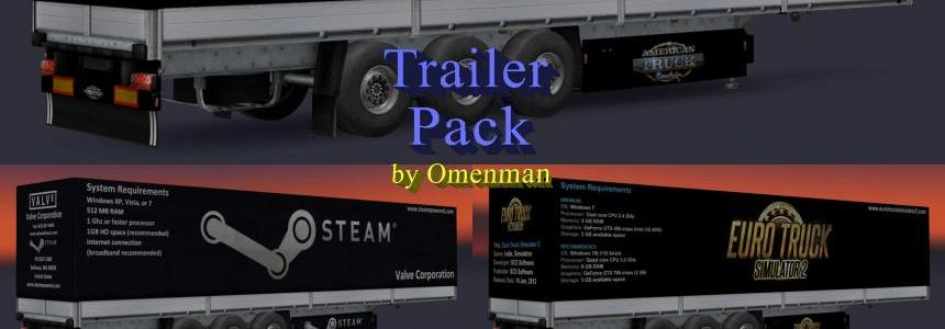 Trailer Pack SCS Truck Simulator v3.0