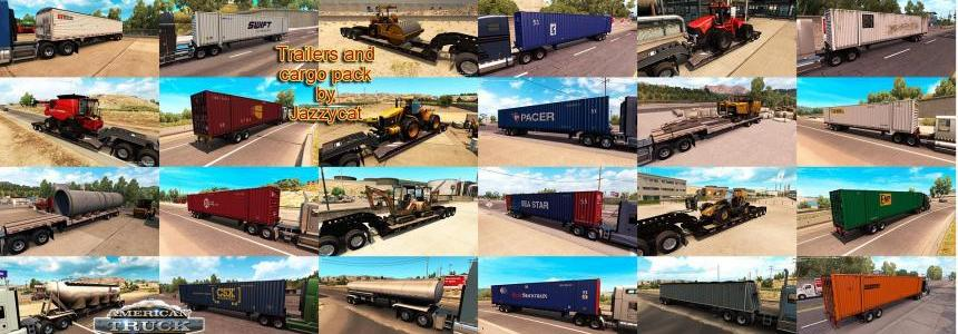 Trailers and Cargo Pack by Jazzycat  v1.2