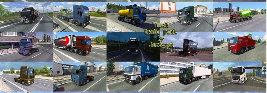 Truck Traffic Pack by Jazzycat v2.3