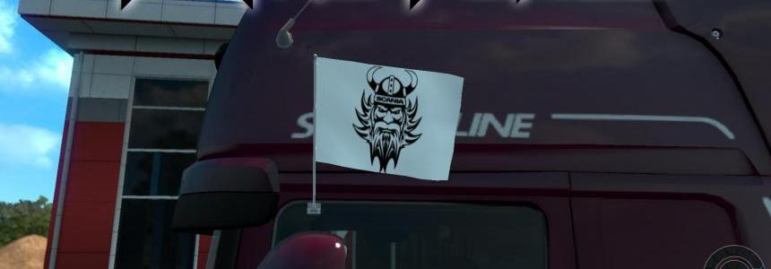 Viking Scania Flags 1.24