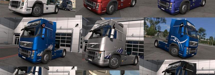 Volvo FH 2009 Skin Pack 1.24