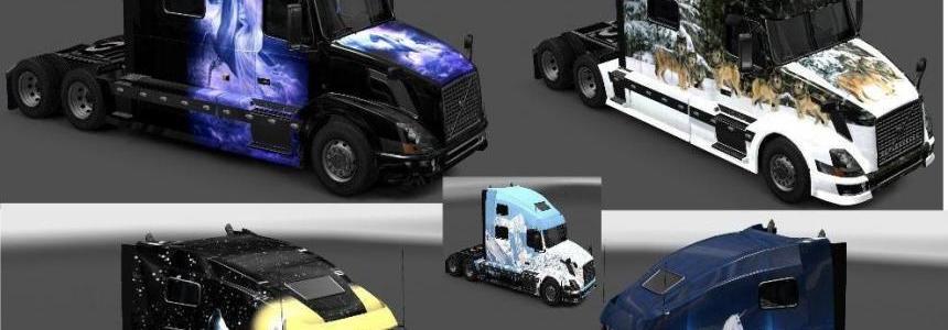 Volvo VNL Skin Pack v1