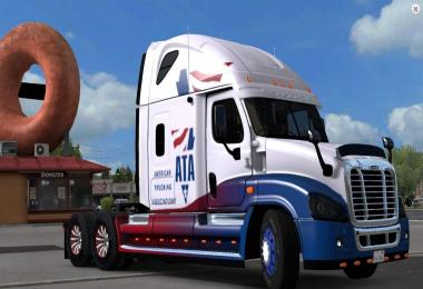 A.T.A skin for Freightliner Cascadia