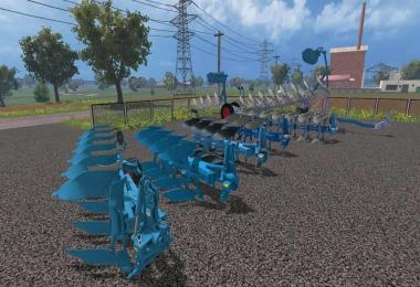 Lemken Plows Pack v1.0
