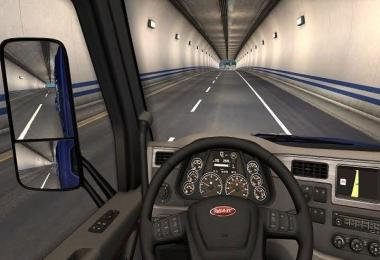 Peterbilt 579 fixed interior + board computer