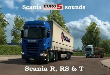 Scania E5 sounds
