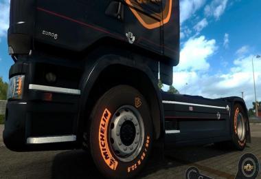 Scania V8 Michelin Tires