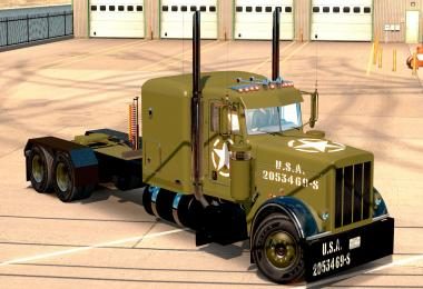 WW2 Peterbilt Clean Style v1.0