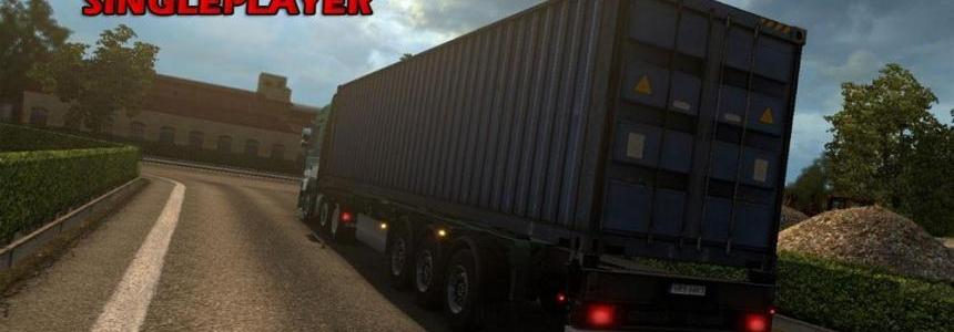 85 Tonnes Container Trailer By AndreiP23