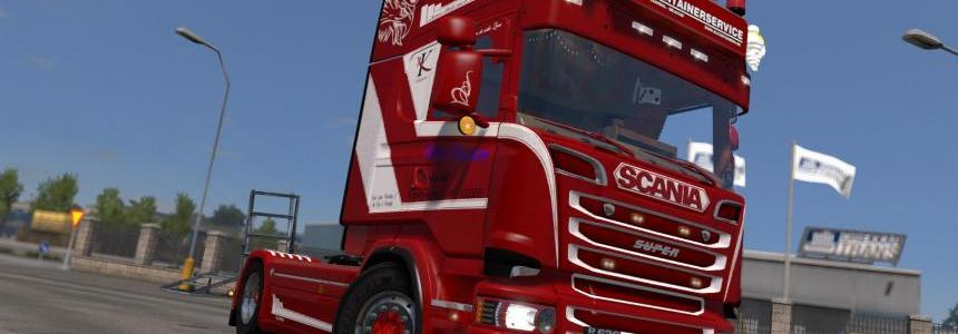 Scania R620 RL Container Service 1.24