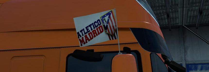Atletico Madrid Flags