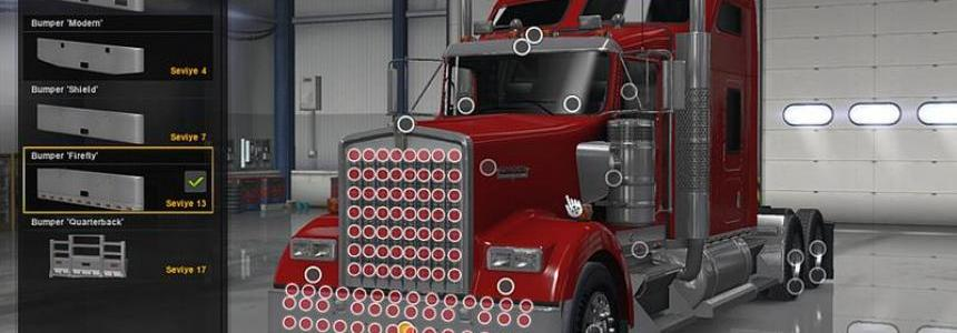 ATS Truck Accessories v1.1 Fixed