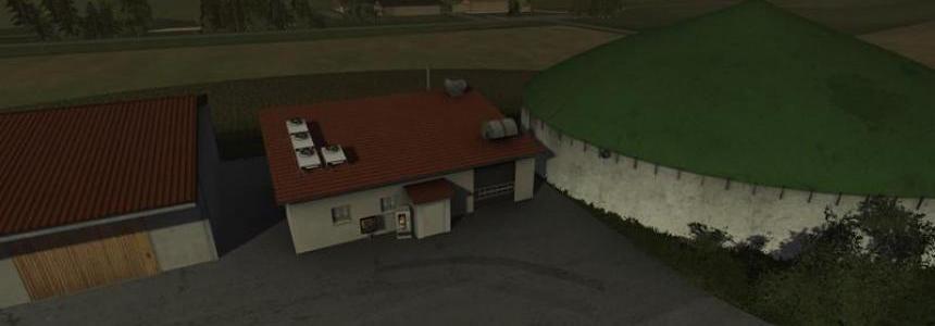 Biogas plant v1