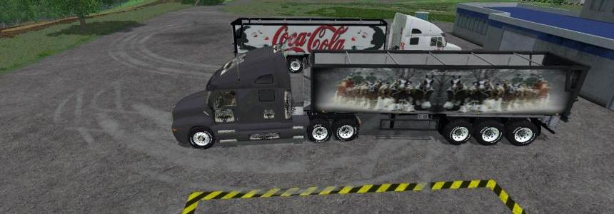 Budweiser Truck And Trailer Pack v2.0 By Eagle355th
