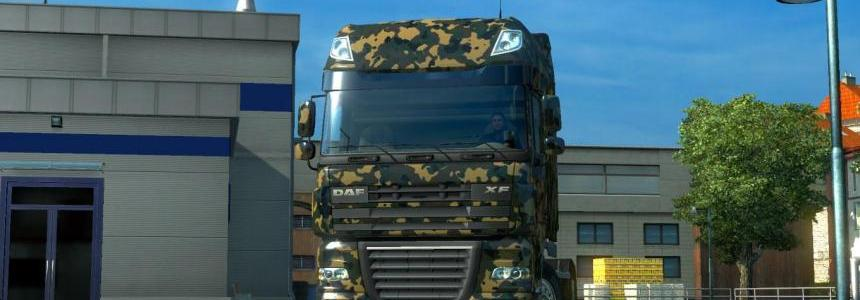 Camouflage Skin for all Truck v1.0.2