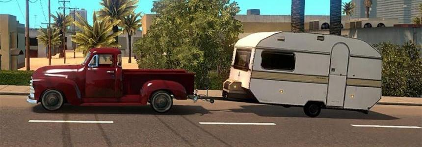 Cars with caravans a.i. traffic