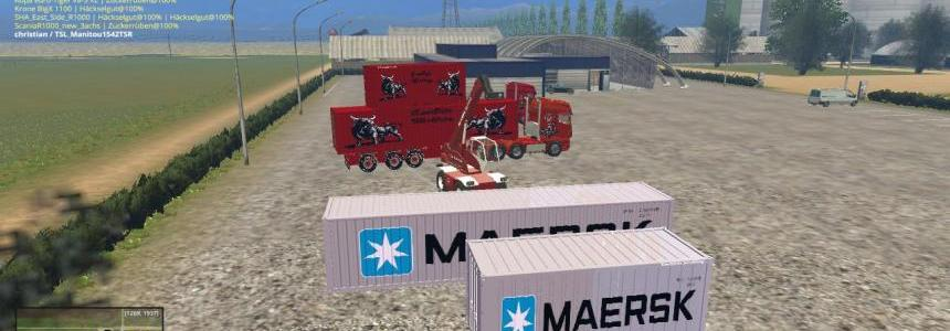 Container Maersk Beta