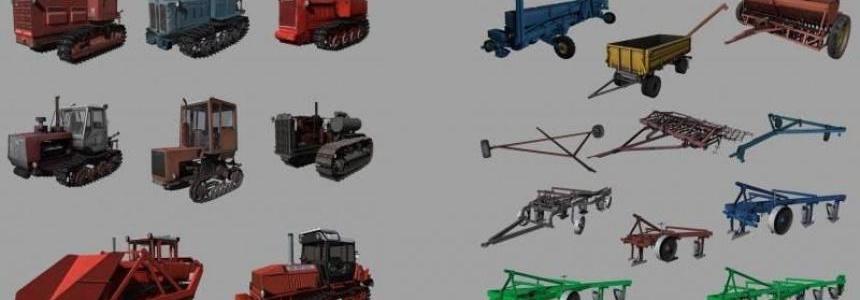 Crawler Tractors Pack v1.0