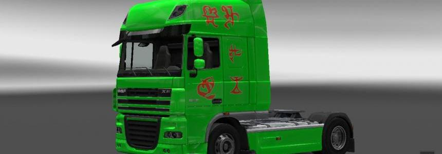 Cybertronian letters for SCS Trucks All versions