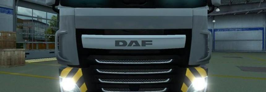 Daf XF EURO6 1200Ps Motor and gear v2