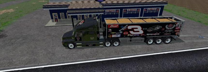 Dale Earnhart Cat Truck and Trailer By Eagle355th
