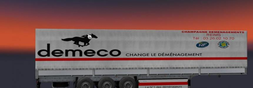 Demeco demenagement trailers 38t 1.24