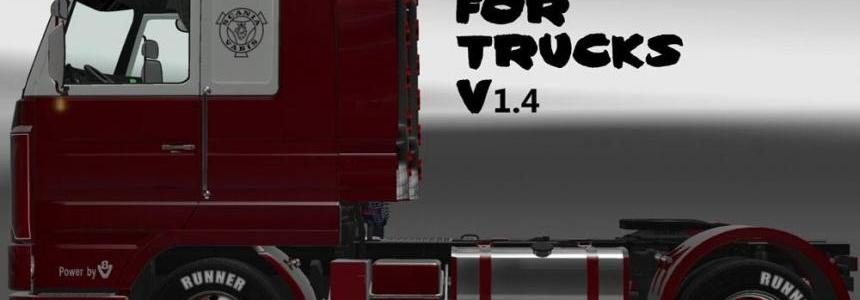 Exhausts for Trucks v1.4 by Nico2k4