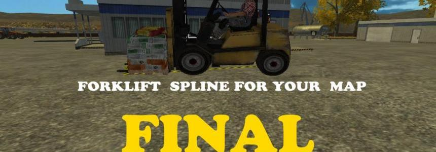 Forklift Spline Final