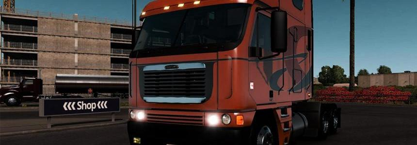 FREIGHTLINER ARGOSY REWORKED V2.2.1 FOR ATS 1.3 BY H.TRUCKER