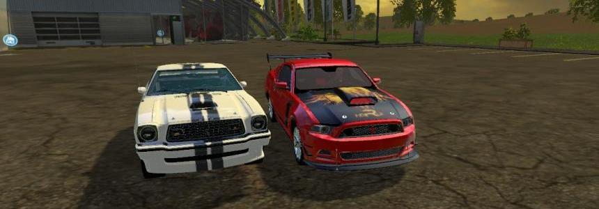 Mustang Boss302 + Cobra 78 v2.0