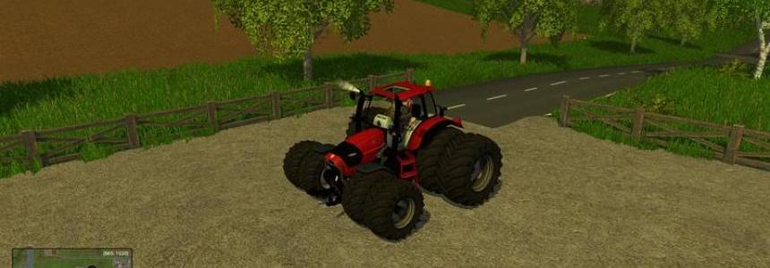 Huerlimann XL130 Twin Wheels Red v1.0