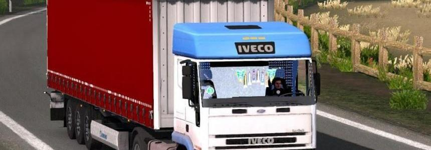 Iveco EuroTech (Sounds and Cabin fix)