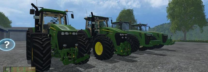 John Deere Tractors Pack by Cap