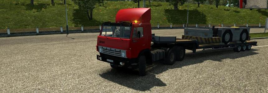 Kamaz 5410-1985 (NEW) Updated for 1.24 -1.23